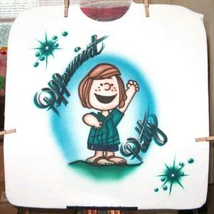 PEPPERMINT PATTY Airbrushed T-shirt Custom Made